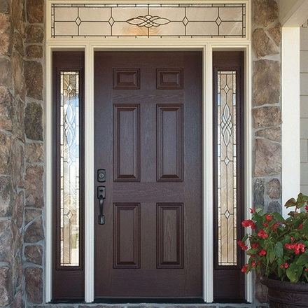 Pella 6 Panel Solid Entry Door